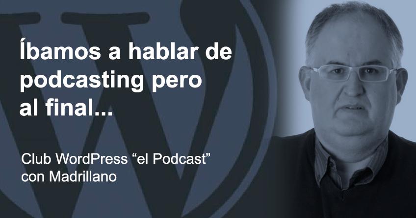 Foto entrevista Madrillano podcasting