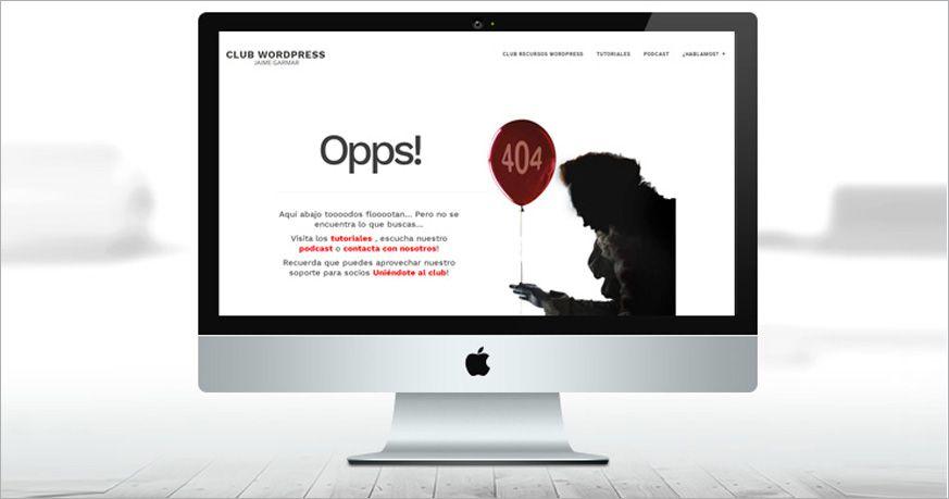 personalizar error 404 en genesis